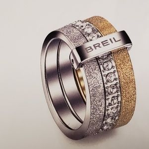 Women's  Tri Colored  Ring